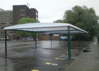 The Eltham Foundation School - Free Standing Canopy
