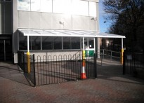 St Josephs RC Primary School - Wall Mounted Canopy