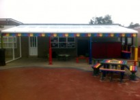 St Katherine's School, Canvey Island - Wall Mounted Canopy