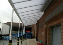 Sainsbury's Supermarket - Wall Mounted Canopy