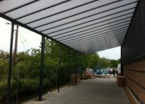 Trilux Lighting - Wall Mounted Canopy