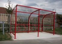 The Oaks Hospital - Cycle Shelter
