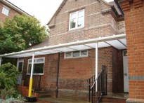 New Christchurch C of E Primary School - Wall Mounted Canopy