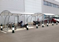 Thames Valley Distribution Centre, Harrods - Cycle Shelter