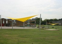The Willows Primary School - Shade Sail Install