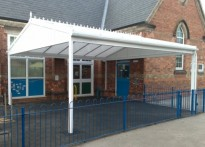 Pottery Primary School - Free Standing Canopy