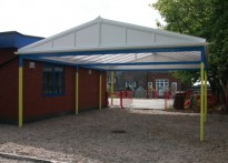 Woodville Infant School - Free Standing Canopy