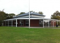Swanwick Hall School - Wall Mounted Canopy