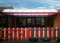 Portway Infant School - Free Standing Canopy