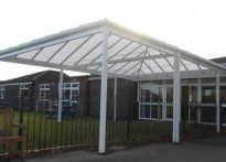 Winnersh Primary School - Free Standing Canopy