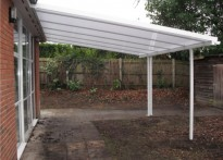 Wokingham Youth and Community Centre - Wall Mounted Canopy