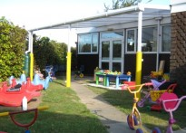 Teddy Bears Playgroup - Wall Mounted Canopy