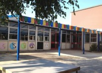 Templars Primary & Nursery School - Wall Mounted Canopy