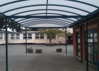 Willand School - Free Standing Canopy