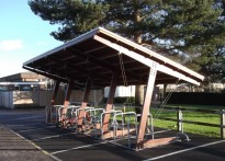 Pear Tree Mead Primary School - Timber Cycle Shelter