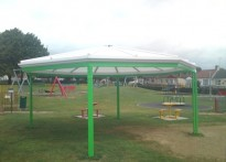 Rayleigh Town Council - Free Standing Canopy
