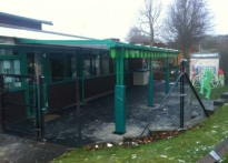 Wendover Pre-School - Wall Mounted Canopy