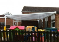 Little Oaks Nursery - Wall Mounted Canopy