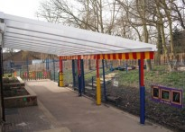 Penwith First School - Wall Mounted Canopy