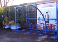 Kings Rise Community Primary School - Cycle Shelter