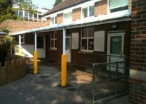 Knowles Nursery School - Wall mounted canopy