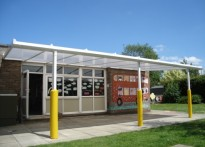 Meadow Primary School - Wall Mounted Canopy