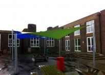 Portslade Community College - Shade Sails
