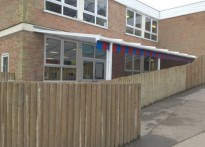 St John's Church of England Primary School - Wall Mounted Canopy