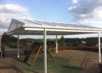 Newick C of E Primary School - Free Standing Canopy