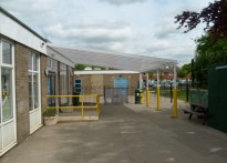 Mayfield Primary School - Wall Mounted Canopy
