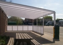 Mayfield Primary School - 2nd Wall Mounted Canopy