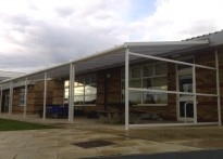 The Lantern Community Primary School - Wall Mounted Canopy - 2nd Installation