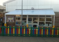 The Lantern Goslings Pre School - Wall Mounted Canopy