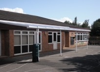 Wheatfields Primary School - Wall Mounted Canopy
