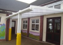 Townley Primary School - Wall Mounted Canopy
