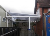 St Andrew's CE Primary School - Free Standing Canopy
