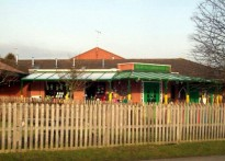 St Lawrence CE Primary School - Wall Mounted Canopy