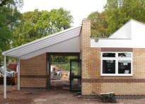 St Peters C Of E Primary School - Wall Mounted Canopy