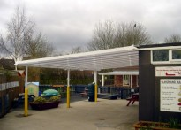 The Links Daycare Centre - Wall Mounted Canopy