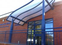 Roundhill Community College - Free Standing Entrance Canopy