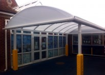Reculver CE Primary School - Free Standing Canopy