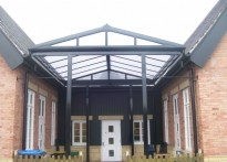 Viscount Beaumont's CE Primary School - Free Standing Entrance Canopy