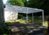 Hartley Primary School - Wall mounted canopy