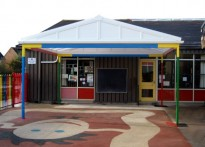 Ripley Infant School - Free Standing Canopy