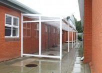 Sutton Valence School - Wall Mounted Canopy