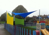 Hayes Park School - Shade Sail