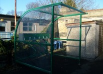 Heston Infant and Nursery School - Cycle Shelter