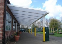 Sledmere Primary School - Wall Mounted Canopy