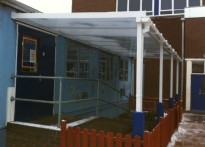 Wordsley Pre-School & Playgroup - Wall Mounted Canopy