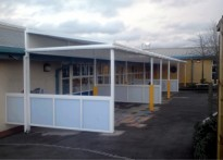 The Brier School - 1st Free Standing Canopy
